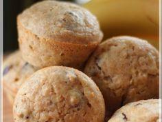 Recette Muffins santé aux bananes et aux dattes, par Lexibule - Ptitchef