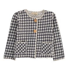 Checked Jacket De Cavana Children- A large selection of Fashion on Smallable, the Family Concept Store - More than 600 brands.