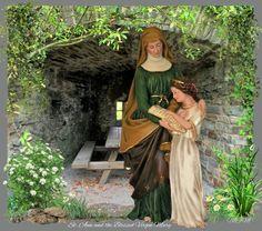 Blessed Virgin Mary, Catholic Saints, Medium Art, Mixed Media Art, Illustrations, Facebook, Virgin Mary, Mixed Media, Illustration