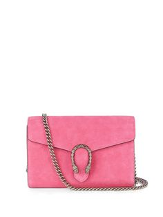 Gucci's hot-pink suede Dionysus bag is brimming with mythical charm – the name…