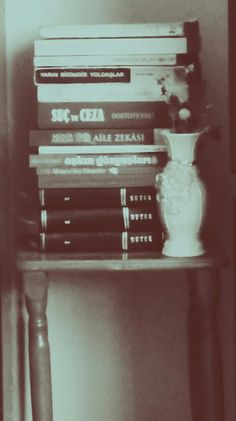 #vintage #books #flowers #book #kitap #bw