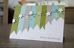 Fröhliche Weihnachtskarte! Echt schön :)