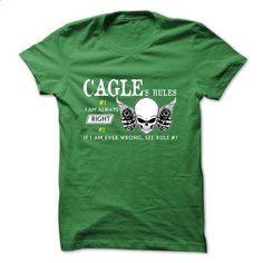 CAGLE RULE\S Team  - t shirt design #black shirt #pink hoodie