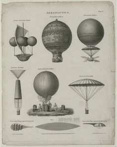 Joseph Clement Aeronautics Illustration