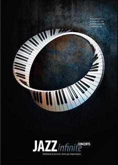 ♥ Infinite Jazz Concert Poster  the piano loop is amazing!