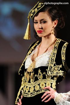 Algerian Fashion: Karakou Dress