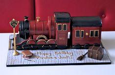hogwarts express cake
