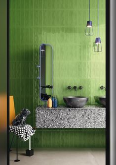 Slash By ceramica d'imola, double-fired ceramic wall tiles