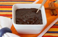 Mexican Chocolate Oatmeal - have your chocolate and eat it, too with this oatmeal with egg whites.