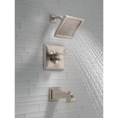 Delta Dryden Volume Control Tub and Shower Faucet Lever Finish: SPOTSHIELD STAINLESS
