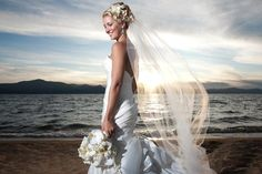 beach wedding hairstyles | Beach Wedding Hairstyles With Veil