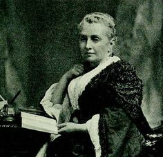A photograph of Isabella Bird