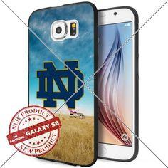 NEW Notre Dame Fighting Irish Logo NCAA #1411 Samsung Galaxy S6 Black Case Smartphone Case Cover Collector TPU Rubber original by WADE CASE [Breaking Bad] WADE CASE http://www.amazon.com/dp/B017KVMIVA/ref=cm_sw_r_pi_dp_cn9ywb174TW42