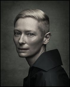 Tilda Swinton by Dan Winters.