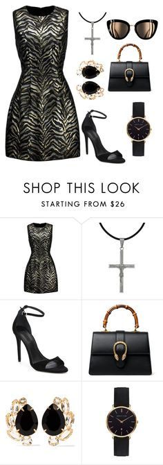 """express yourself"" by mizzlem ❤ liked on Polyvore featuring Roberto Cavalli, Carolina Glamour Collection, Alexander Wang, Gucci, Bounkit and Abbott Lyon"