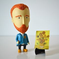 Quirky Gifts Perfect for People Who Love Painting - Awesome - Gifts for People Who Love Paintings Mini Easel Painting Accessories Paint Splatter - Vincent Van Gogh, Wave Illustration, Botanical Illustration, Toy Art, Gifts For Art Lovers, Lovers Art, Painting Accessories, Cult, Quirky Gifts