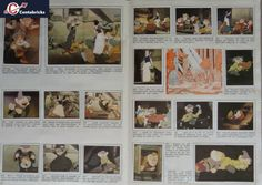 Album-PANINI-Disney-Blanche-Neige-et-les-Sept-Nains-Grand-Format-1983