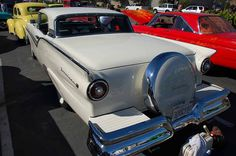 1957 ford retractable with continental kit