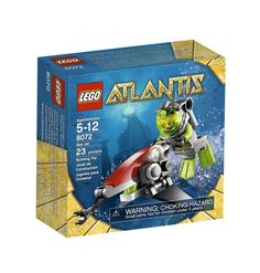 Lego Sea Jet Aquazone Atlantis Kit Blocks Kids Toy Block Minifigures 8072 NEW  LEGO 8072  Age: 5-12  Lego 8072 Lego Aquazone Atlantis  Shipping Policies  We ship to the Lower 48 States only (Does NOT include Hawaii or Alaska)  We cannot ship to...
