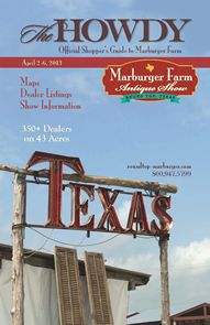 Round Top/ Marburger Farm Antique Show - Amazing, huge antique show every year in Texas!!  Bring a truck and/or a trailer!