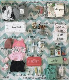 ideas baby essentials products diaper bags for 2019 Baby Outfits, Diaper Bag Essentials, Diaper Bag Checklist, Hospital Bag Checklist, Newborn Essentials, New Baby Checklist, Baby Registry Checklist, Baby Girl Essentials, Packing Hospital Bag