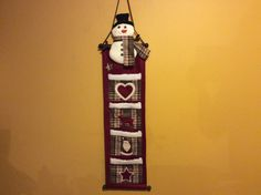 A personal favorite from my Etsy shop https://www.etsy.com/listing/481439040/vintagetitan-snowman-felt-holiday-wall