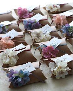 花嫁DIY セリアで作る席札プチギフトのアイデア