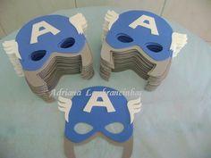 Máscaras de e.v.a.  Acompanha elástico R$ 3,80