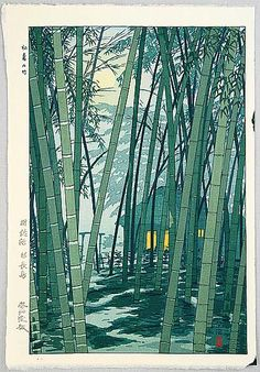 Shiro Kasamatsu, Bamboo in Summer, early 20th c.