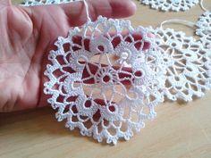 Crochet snowflakes Christmas decorations set of 6 crochet | Etsy