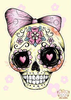 little girl skull.