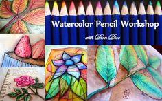 Watercolor Pencil Workshop with Dion Dior