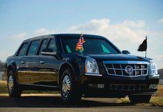 """Cadillac One """"The Beast"""" - R$4,31 milhões, um veiculo que possui blindagem estrema."""