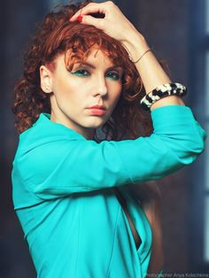 Model Masha Saffo Photo Anya Kolechkina MUA Kin Natalia