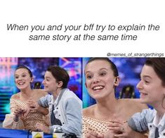 memes on friends laughing memes on friends . memes on friends funny . memes on friendship . memes on friends hindi . memes on friends hilarious . memes on friends truths . memes on friends laughing . memes on friendship hilarious Stranger Things Actors, Stranger Things Have Happened, Stranger Things Aesthetic, Stranger Things Funny, Stranger Things Netflix, Stranger Things Season 3, Millie Bobby Brown, Charlie Heaton, Laughing Funny