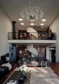 Study plus living room