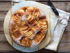 מתכון: עוגת תפוחים שקועים מרהיבה