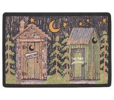 Outhouse Bathroom Set Shower Curtains Lodge Outhouse Curtain Bath Accessories Outhouse Bathroom Outhouse Rustic Lodge