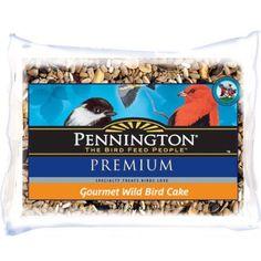 Pennington Gourmet Bird Cake, 2lbs - Pennington Seed (1- Pack)