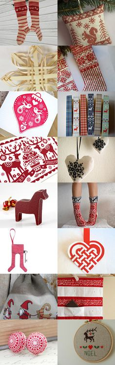 Scandinavian Christmas by Megan Charette on Etsy--Pinned with TreasuryPin.com