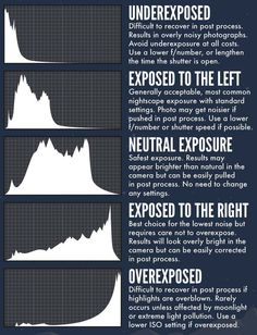 How to read your camera's histogram. Understanding the Histogram and Adjusting Exposure