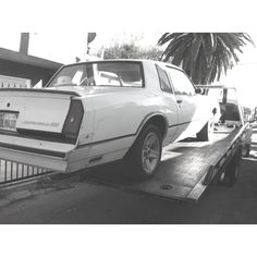 This is my all time favorite car... '85 SS... Just put it in the shop. Can't wait to see the outcome