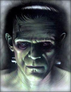 Frankenstein's Monster Artwork.