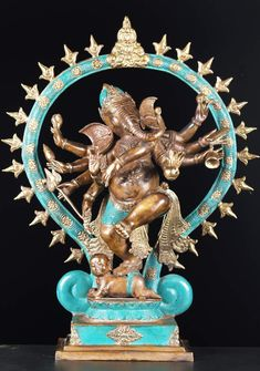 Ganesh - Remover of obstacles, patron of arts and sciences, and the deva of intellect and wisdom.
