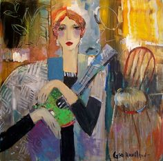 Attic gallery began in Diana Faville's attic in and is now located in downtown Camas, Washington. George Hamilton, Fine Art Gallery, Tapestries, Figurative, Musicians, Abstract Art, Sketches, Portraits, Passion