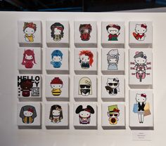 Sanrio's Three Apples: 35th Hello Kitty Anniversary Exhibition | Plasticgod