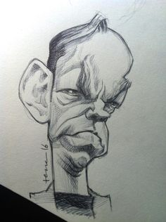 Bruno Tesse - Hugo Weaving sketch