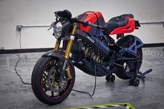 Brammo Empulse electric motorcycle.