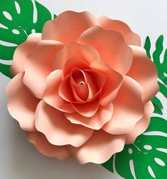 PDF Rose Petal Template Digital Version Medium Rose 12 to