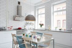 #Kitchen tiles are no longer meant just for the #countertop or #backsplash. Tiling entire walls, from countertop to ceiling are becoming the latest trends. You can work with your space by sticking to a timeless pattern and color, like the subway tile.   For trend-setting #remodeling ideas, call (408) 274-6060 or visit http://www.danielmackeyconstruction.com/kitchen.html